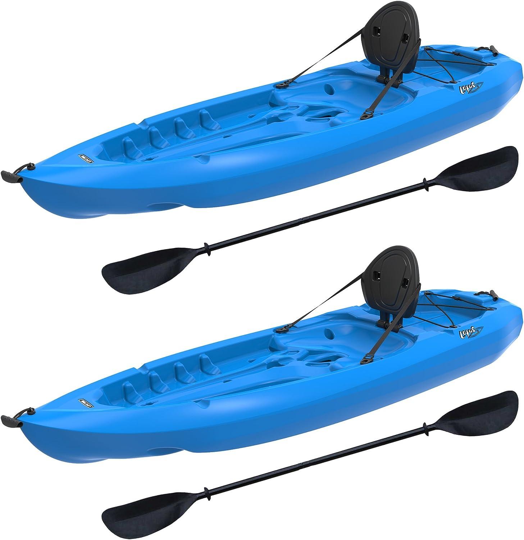 Amazon.com : Lifetime Lotus Sit-On-Top Kayak with Paddle (2 Pack