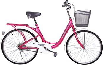 Gamma Butterfly Bike, 24 Inch - BIC48, Pink and White