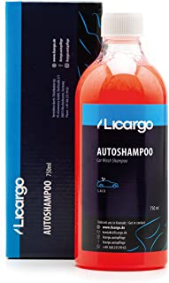 LICARGO® Premium Autoshampoo Konzentrat (750ml)   pH neutral   entfernt hartnäckigen Schmutz gründlich   kein Angreifen von Versiegelungen   Autowaschmittel, Car Shampoo, Auto Shampoo