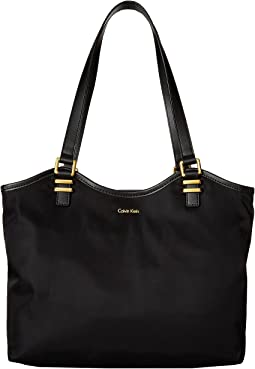 Nylon North/South Tote
