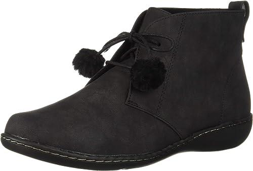 Soft Style Hush Puppies Wohommes Jinger Oxford, noir noir noir Nubuck poms, 7 M US a41