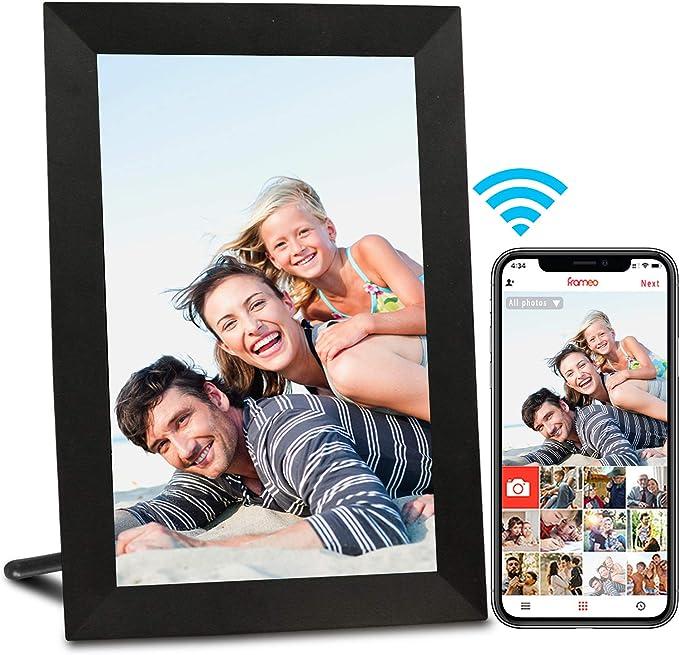 2622 opinioni per AEEZO WiFi Cornice Foto Digitale da 9 pollici con IPS Display Touch screen