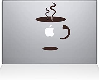 "Cup Of Coffee Vinyl Sticker, 13"" Macbook Pro (2016 & newer) 13"" Macbook Pro (2016 & newer) brown 0059-MAC-13X-BRO"