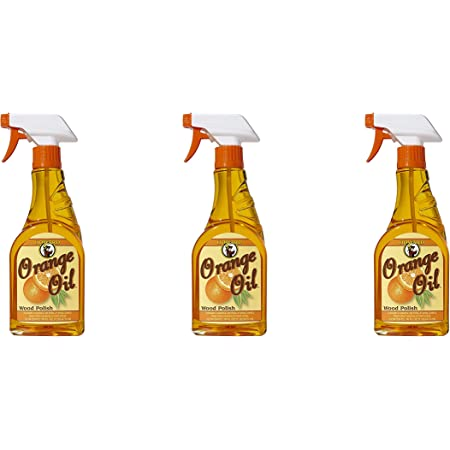 Howard Products ORS016 Orange Oil Wood Polish, 16 oz Pack of 3