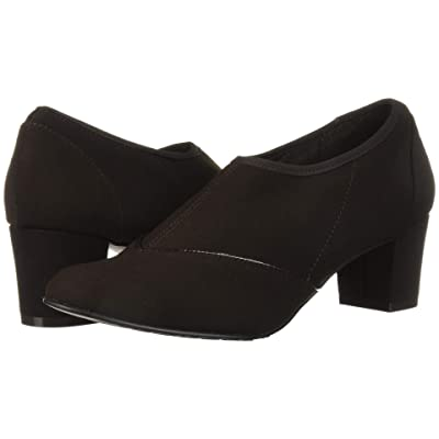 Soft Style Glori (Dark Brown Stretch Fabric) Women