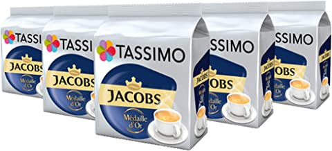Tassimo Jacobs Me'Daille D'Or 16 T-Discs (Pack Of 5)