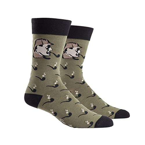 Sock It To Me Sherlock Mens Crew Socks by Animewild
