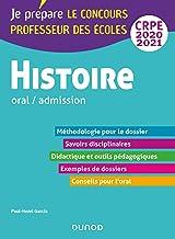 Histoire - Professeur des écoles - Oral / admission - CRPE 2020-2021 (Concours enseignement)