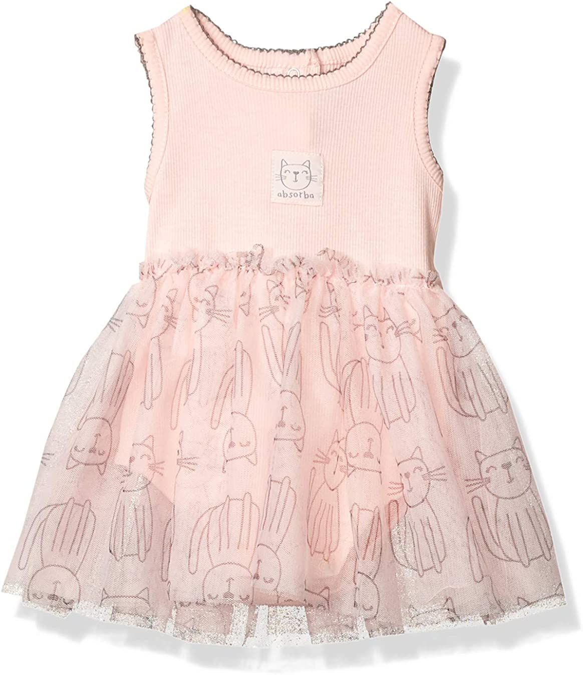 absorba Baby High order Girls' Dress Outlet SALE Sleeveless