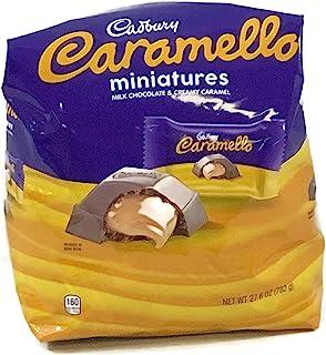 Cadbury Caramello Miniatures Milk Chocolate and Caramel Candy Bars