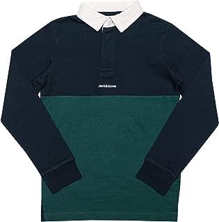 Jack Jones Polo Rugby Bleu Marine Gar/çon