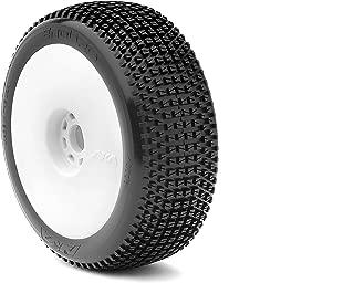 AKA Products 14006VRW Racing Buggy Enduro Super Soft Evo Wheel Pre-Mounted White Tire, Scale 1:8
