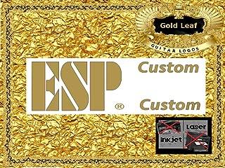 ESP Guitar Decal Headstock Waterslide Restoration logo 116g