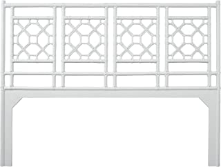 Inspired by David Francis Lewis Headboard, King, White