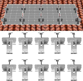 ECO-Worthy Roof Solar Panel Mounting Bracket System Kit(for 1-4 Pieces Solar Panels)