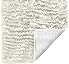 Gorilla Grip Original Luxury Chenille Bathroom Rug Mat, 70x24, Extra Soft and Absorbent Shaggy Rugs, Machine Wash and Dry,...