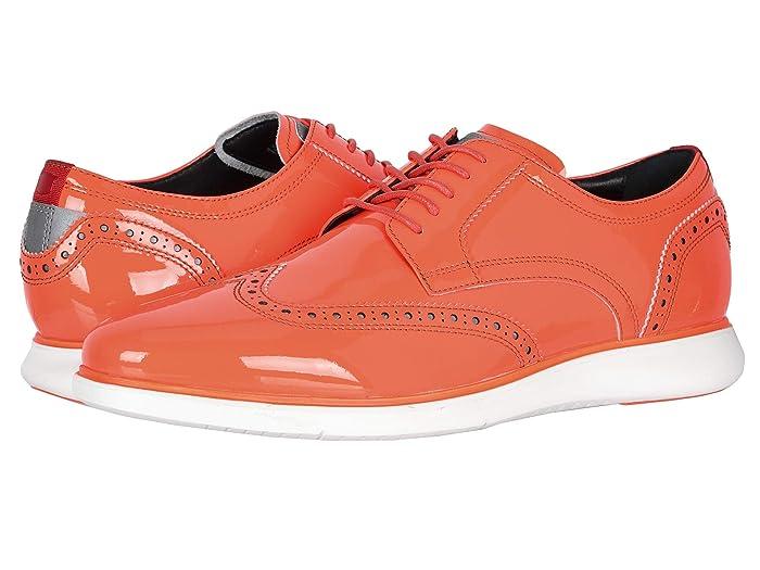 Florsheim  Fuel Neon Wingtip Oxford (Coral) Mens Shoes