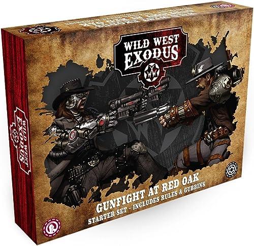 Wild West Exodus Gunfight at rot Oak Starter Set (Englisch) Warcradle Studios