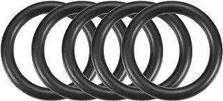 Sourcingmap Anillo de Sellado Resistente a Aceite NBR O Forma de Anillo Anilla 50 Piezas Negro 25mm X 2mm