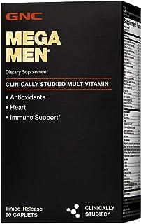 Sponsored Ad - GNC Mega Men Multivitamin for Men, 90 Count, Antioxidants, Heart Health, and Immune Support