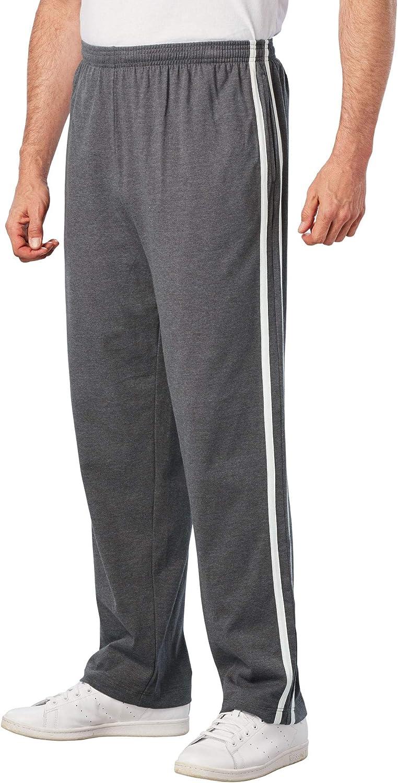 KingSize Men's Big Manufacturer OFFicial shop Tall Lightweight Max 45% OFF Striped Sweatpants