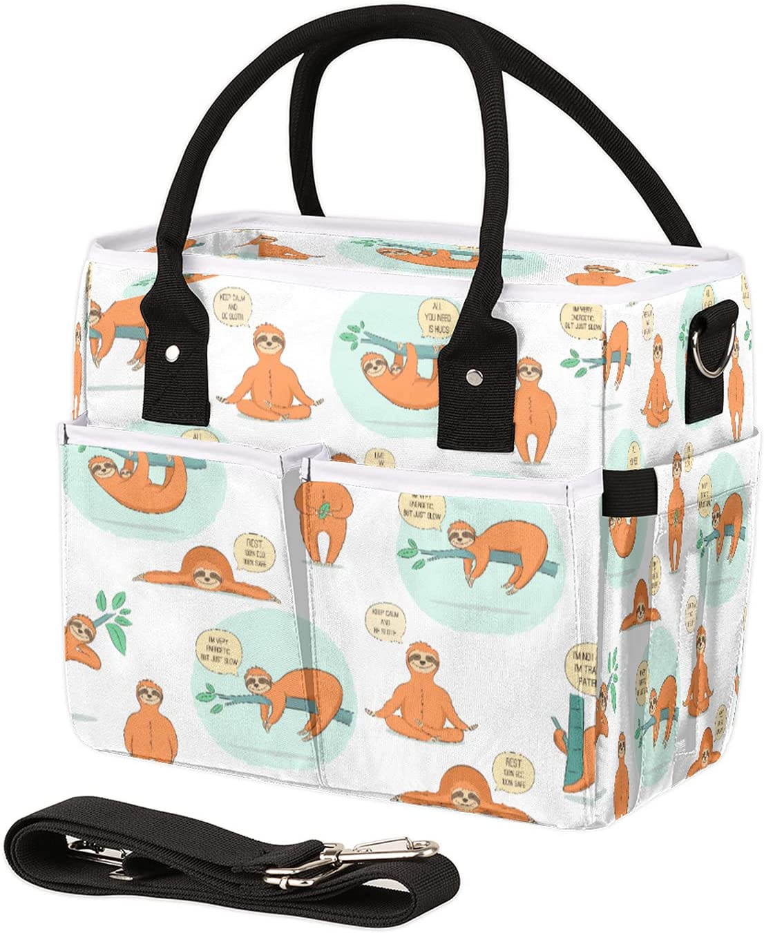 Special price Insulated Lunch Bag for Women Funny Reusable specialty shop Leakproof Sloth Men