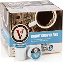 Donut Shop Blend for K-Cup Keurig 2.0 Brewers, 42 Count, Victor Allen's Coffee Medium..