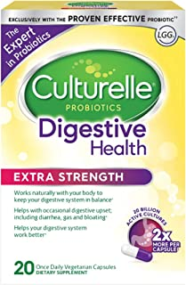 Culturelle 康萃乐 日常膳食补充剂 含有天然来源的乳酸杆菌GG 益生菌 20粒