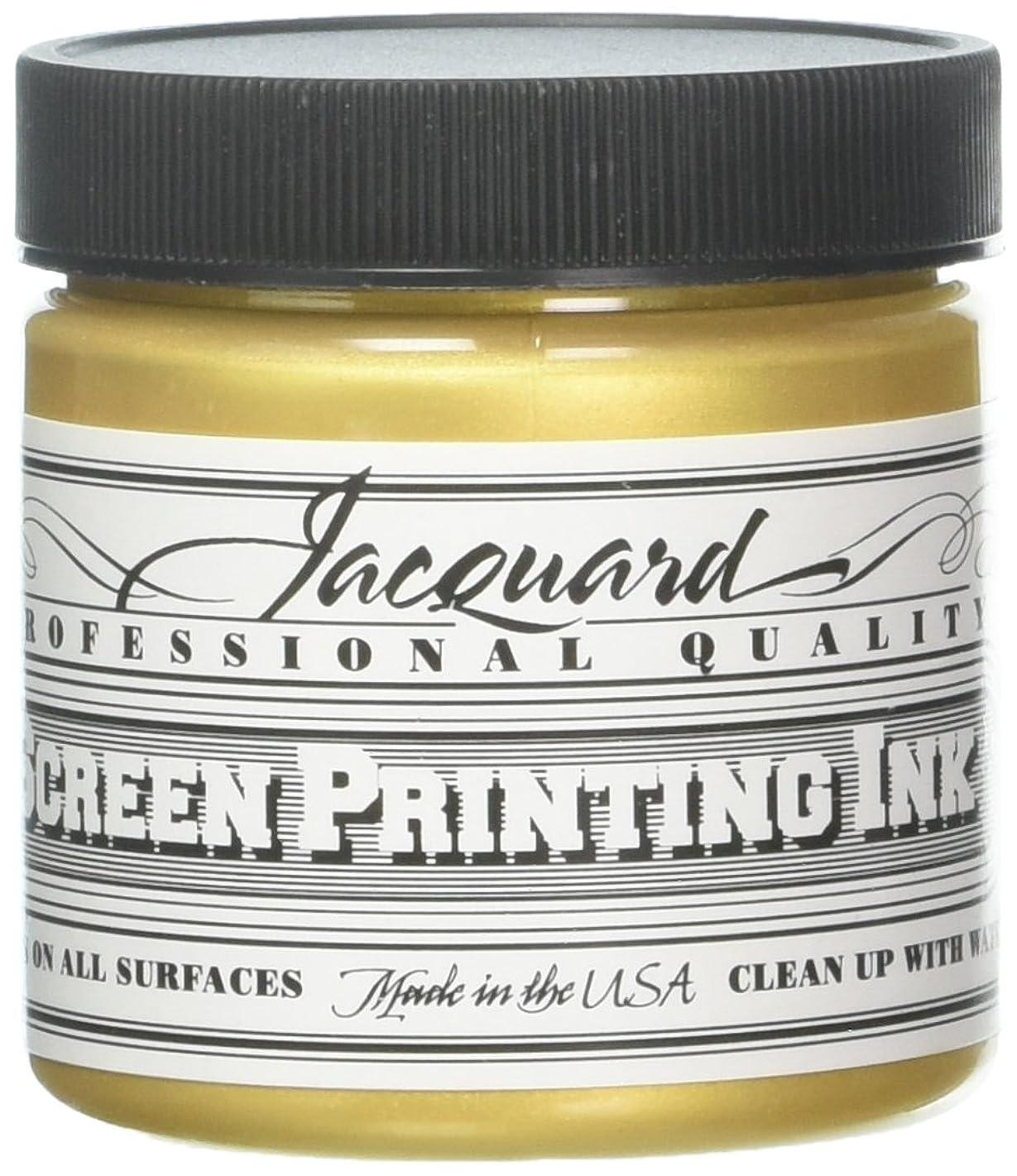 Jacquard JAC-JSI1120 Screen Printing Ink, 4 oz, Gold
