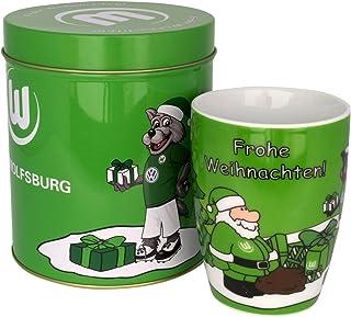 VfL Wolfsburg Weihnachtstasse in Dose