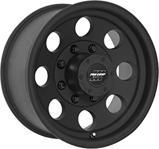 Pro Comp Alloys Series 69 Wheel with Satin Black Finish (17 x 9. inches /8 x 165 mm, -6 mm Offset