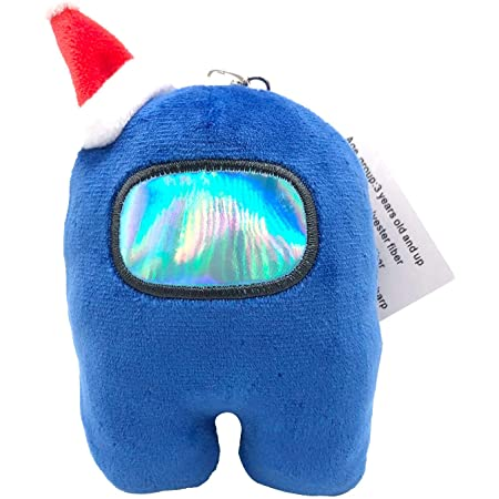 Among Us Merch Plush Toys Keychains,Cute Merch Crewmate Plushie Gifts for Game Fans,Soft Astronaut Stuffed Doll Figures