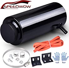 SPEEDWOW Radiator Coolant Overflow Tank Expansion Catch Tank 800ml Aluminum