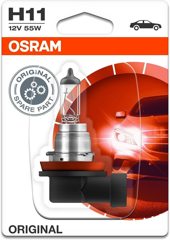Osram 64211BLI1 Lámpara Halogen PGJ19-2 12V 55W H11