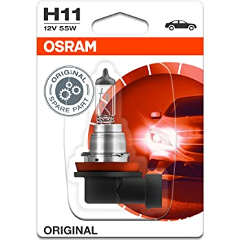 Twin OSRAM Ultra Life H11 Car Headlight Bulb 64211ULT-HCB