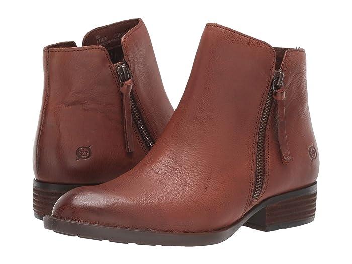 Born  Olio (Brown Full Grain Leather) Womens  Boots