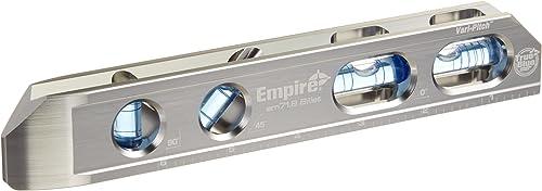 "discount EMPIRE discount EM71.8 new arrival Professional True Blue Magnetic Box Level, 8"" outlet sale"