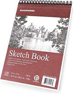 Bachmore Sketchpad 9X12