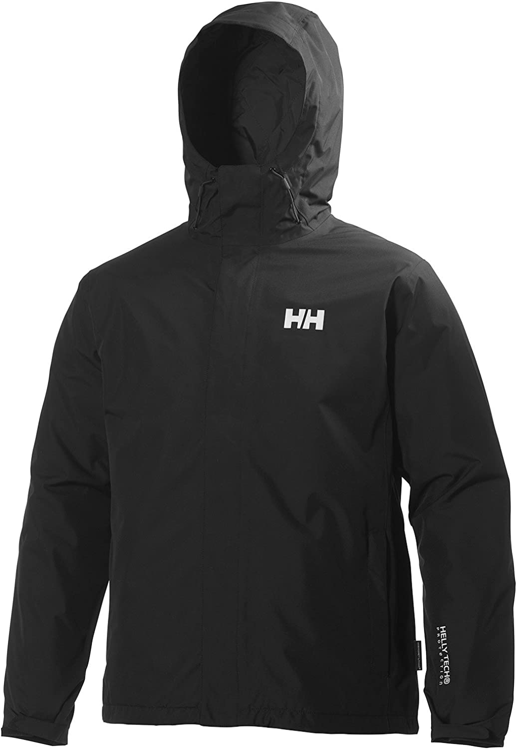 Helly Hansen Men's Seven J Insulated Waterproof, Windproof, and Breathable Rain Jacket with Hood