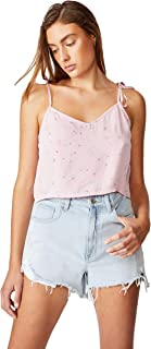 Cotton On Women's Cami Blouse, Isobel Ditsy Fragrant Lilac