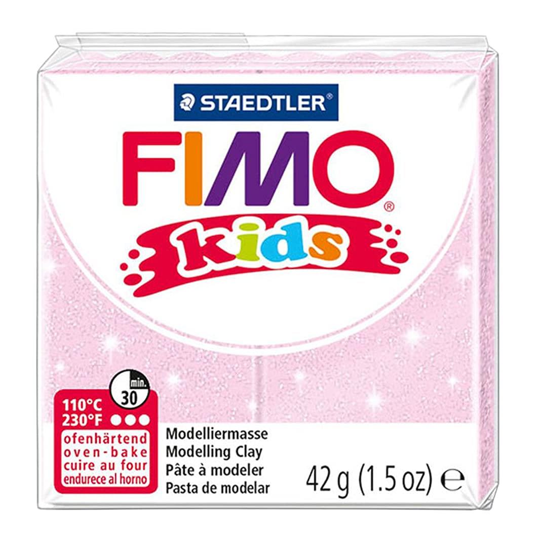 Staedtler 42 g Fimo Kids Individual Blocks (Pearl Rose)