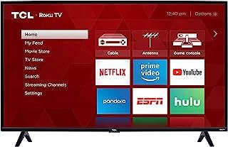 TCL 40-inch 1080p Smart LED Roku TV - 40S325, 2019 Model , Black