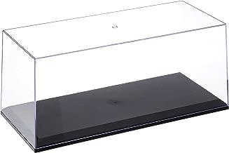 Illumibo MJ14003 Showcase 1: 18 Acrylicase+ Black Base Display, Clear