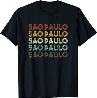 Retro Sao Paulo Brazil Shirt