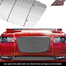 APS Compatible with 2015-2020 Chrysler 300C 300S Bumper Billet Grille Insert N19-A87366R