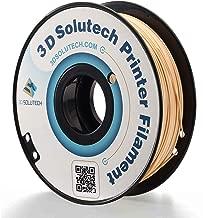 3D Solutech Beige 3D Printer PLA Filament 1.75MM Filament, Dimensional Accuracy +/- 0.03 mm, 2.2 LBS (1.0KG)