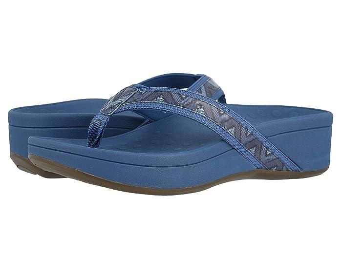 VIONIC  High Tide (Navy Chevron) Womens Sandals