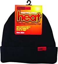 Blackrock Men's Black Heat Thermal Insulated Hat