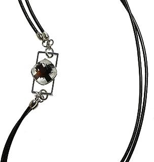 Tamarusan Eyeglass Holder Glasses Chain Leather Original Resin
