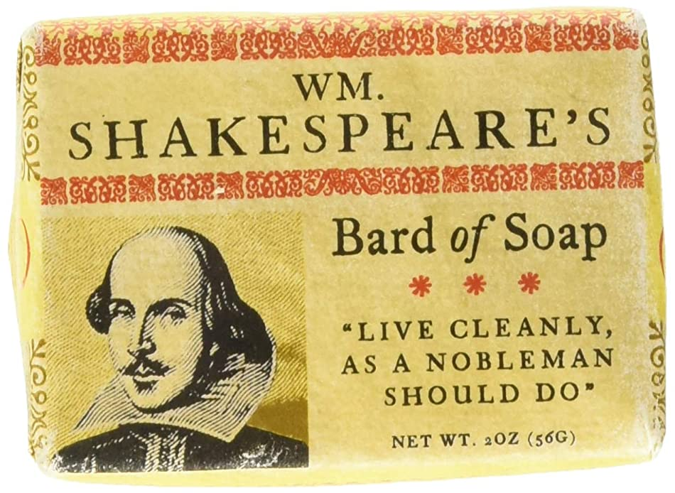 平手打ち作成者不快William Shakespeare Bath Soap